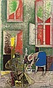 Spring Morning, Romare Howard Bearden, Click for value
