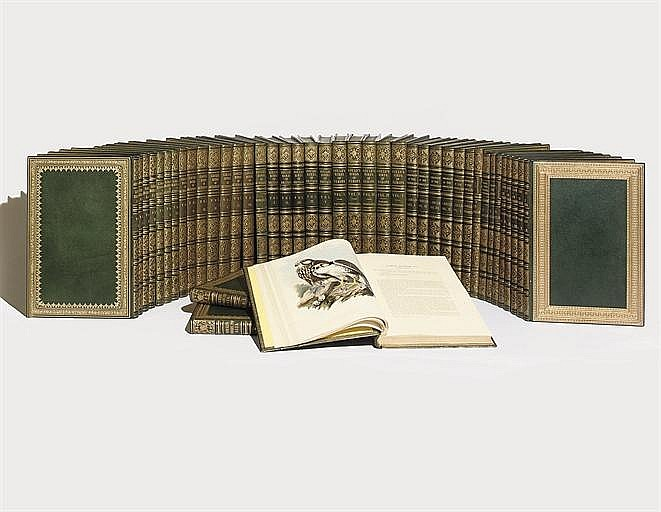 GOULD, John (1804-1881). A complete set of the celebrated folio bird books formed by Gould's close acquaintance, George Savile Foljambe (1800-1869).