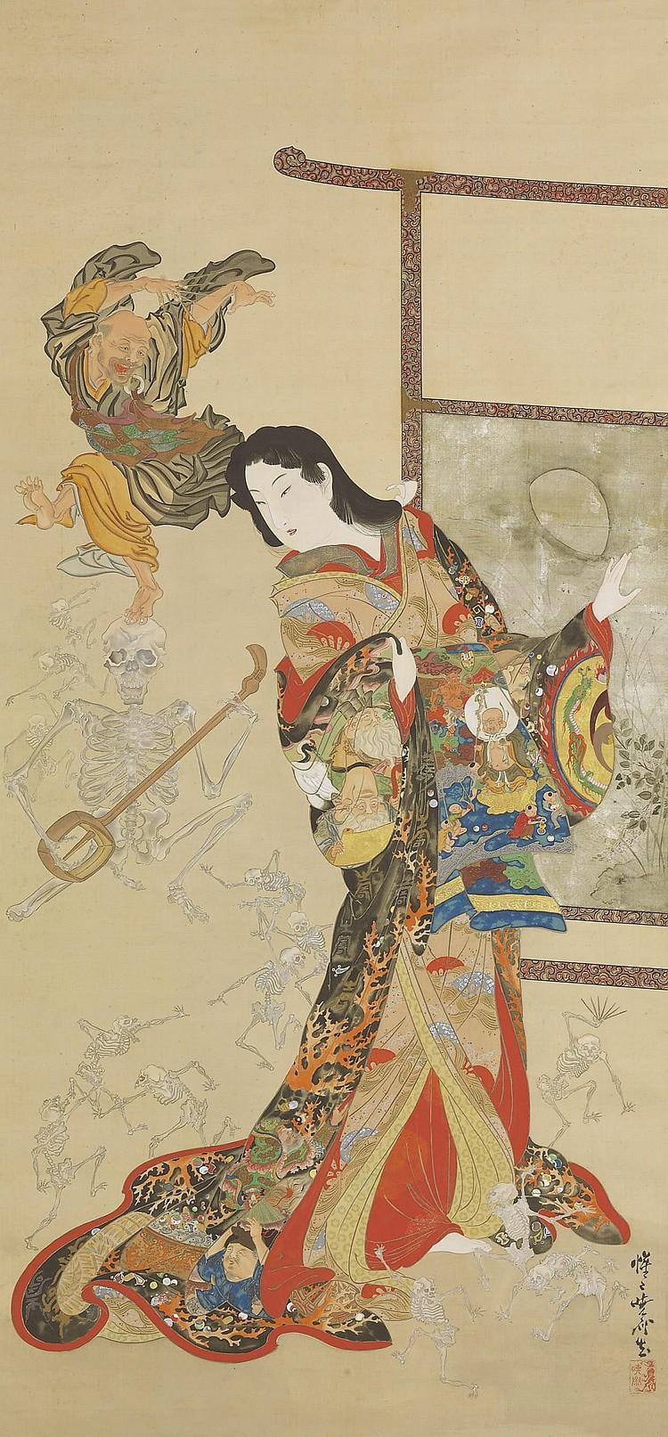 Kawanabe Kyosai (1831-89)