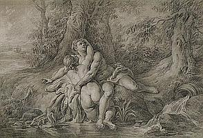 ECOLE FRANCAISE, XVIIIEME SIECLE, D'APRES JEAN-FRANCOIS DE TROY (1679 - 1752)