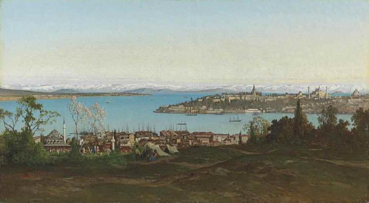 The Bosphorus with Seraglio Point beyond