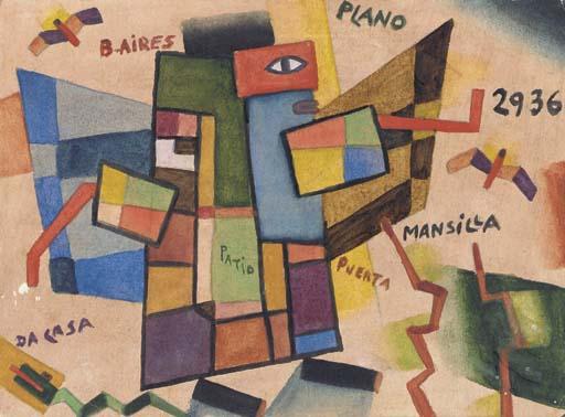 Alejandro Xul Solar (1887-1963)