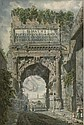 THE ARCH OF TITUS, Louis Ducros, Click for value