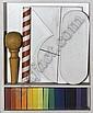 Piccolo oggetto con scala cromatica, Lucio DelPezzo, Click for value