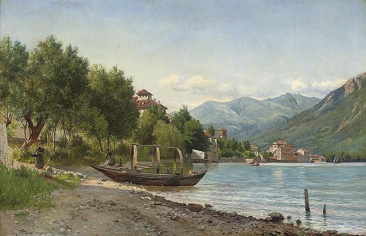 August Fischer (DANISH, 1854-1921)