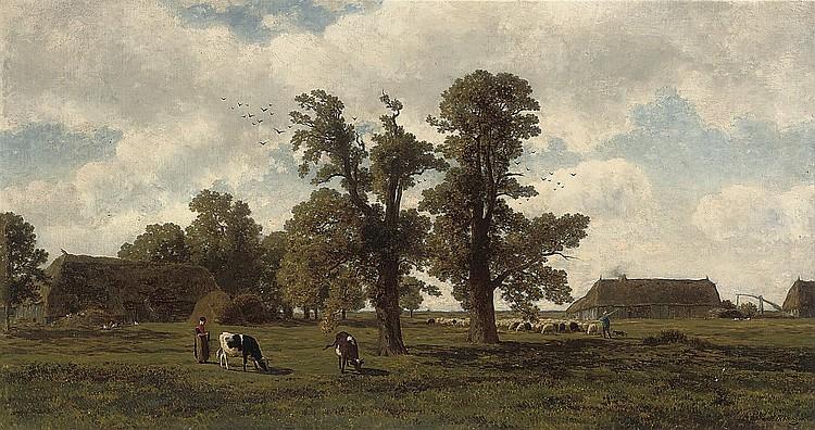 Gerrit Alexander Godart Mollinger (DUTCH, 1836-1867)