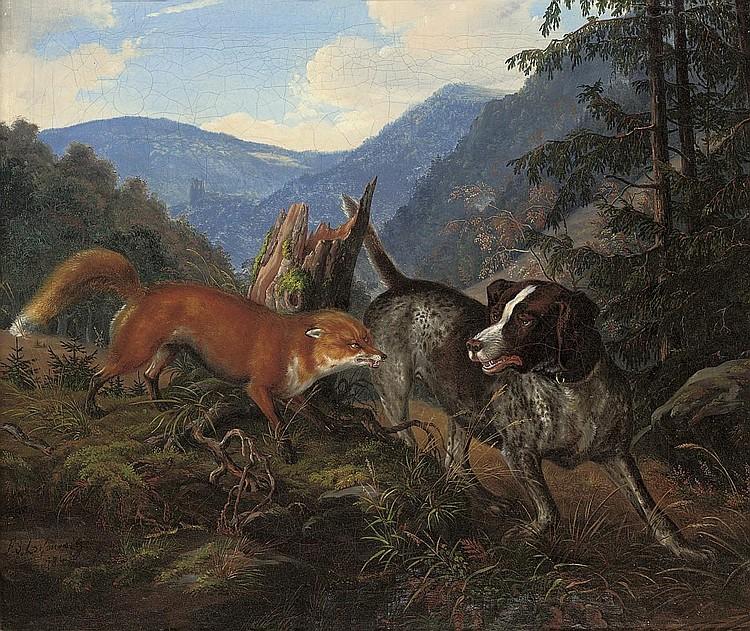 F. Sigmund Lachenwitz (GERMAN, 1820-1868)