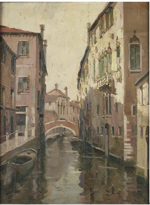 Vittorio Nattino (Italia 1890-1971)