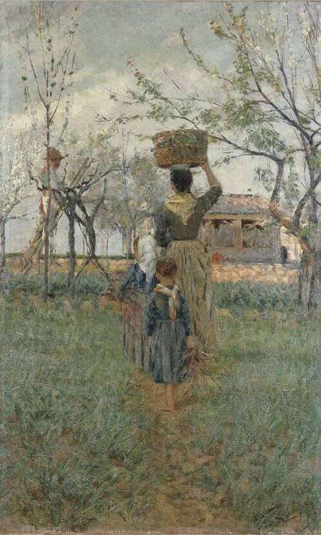 Nicolo' Cannicci (Italia 1846-1906)