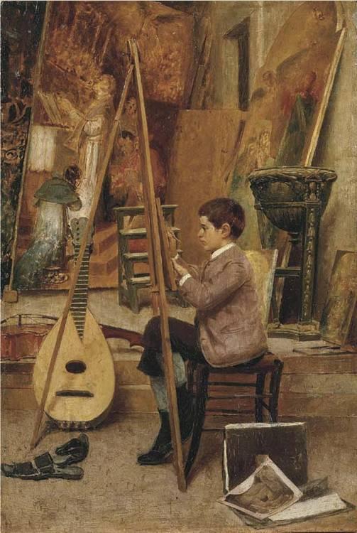 Natale Attanasio (Italia 1845-1923)