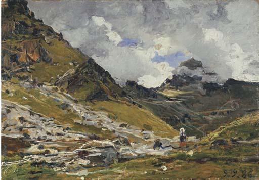 Lorenzo Delleani (Italia 1840-1908)
