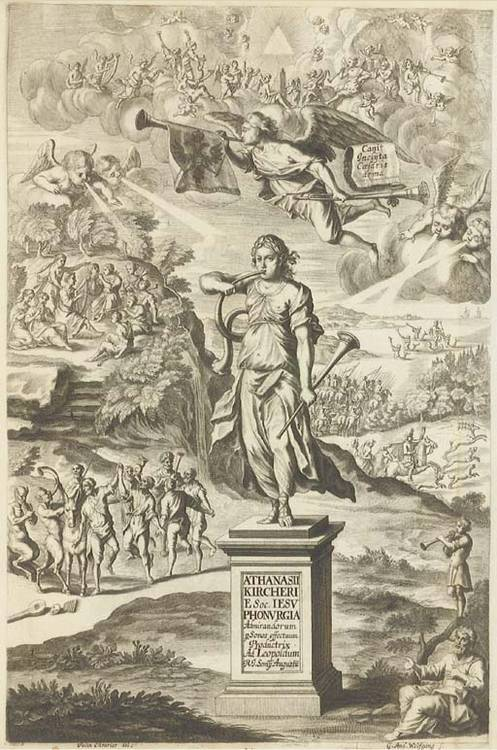 KIRCHER, Athanasius (1602-1680). Phonurgia Nova sive Conjugium Mechanico-physicum Artis &