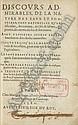 PALISSY, Bernard (1510-1590). <I>Discours admirables, de la nature des eaux et fonteines, tant</I>, Bernard Palissy, Click for value