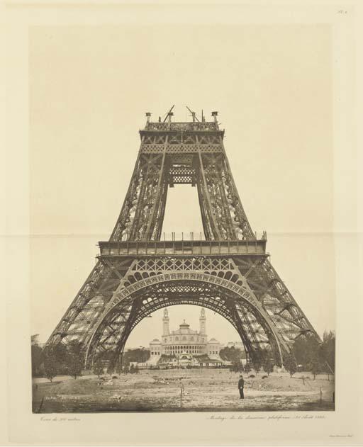 EIFFEL, Gustave (1832-1923). <I>La Tour de trois cents mètres</I>. Paris: Société des imprimeries