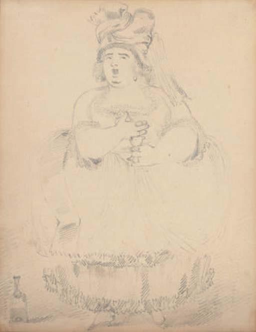 An opera singer
