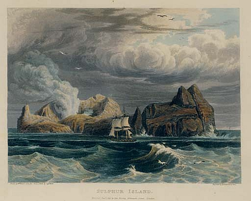 HALL, Basil (1788-1844).  Account of a Voyage of Discovery to the West Coast of Correa, and the Great Loo-Choo Island . London: John Murray, 1818.