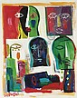 Collection of Heads , Ismail Fattah, Click for value