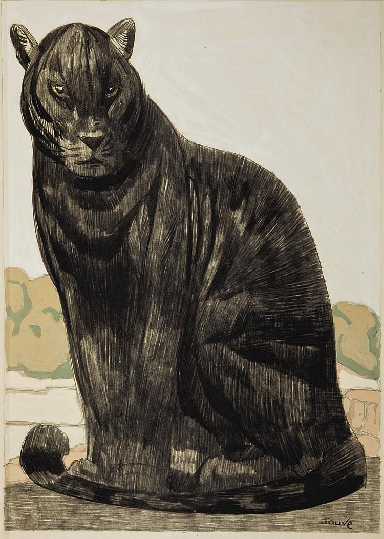 [JOUVE] -- KIPLING, Rudyard (1865-1936). Le Livre de la jungle [ le second livre de la jungle ]. Traduit de l'anglais par Louis Fabulet et Robert d'Humières. Paris: Société du livre contemporain, 1919.