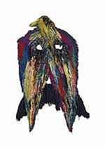Caroline Achaintre (B. 1969)  - Moustache-Eagle