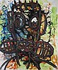 Aboudia (B. 1983)  - Untitled Tête,  Aboudia, Click for value