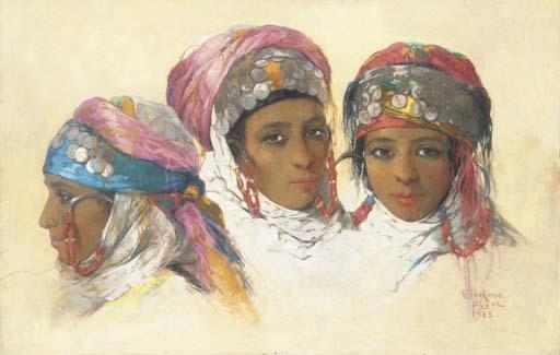 Emile Deckers (Belgian, 1885-1968)