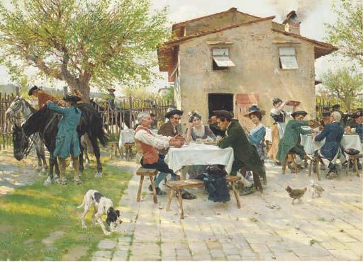 Raffaelo Sorbi (Italian, 1844-1931)
