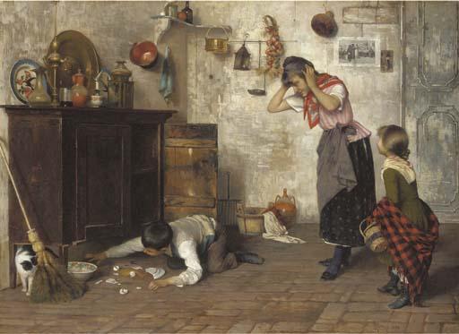 Luigi Pastega (Italian, 1858-1927)