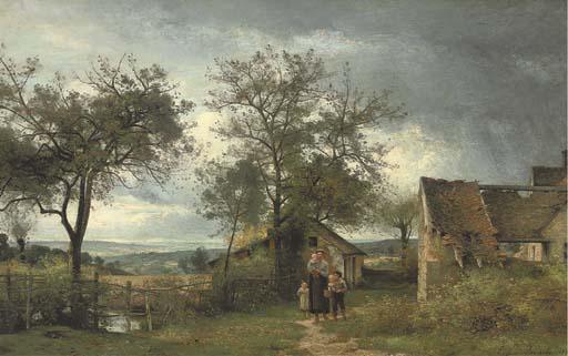 Eugène-Antoine-Samuel Lavieille (French, 1820-1889)