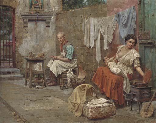 Fortunino Matania (Italian, 1881-1963)