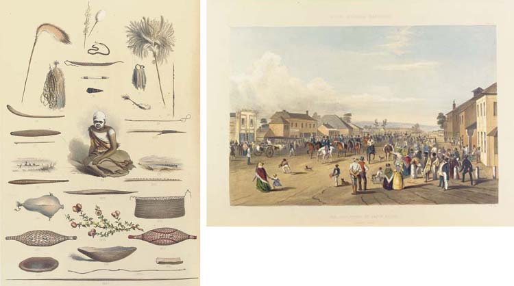 ANGAS, George French (1822-1886). <I>South Australia Illustrated</I>. London: Thomas M'Lean, 1847.