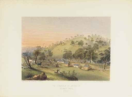 ANGAS, George French (1822-1886). <I>Description of the Barossa Range and its neighbourhood, in</I>