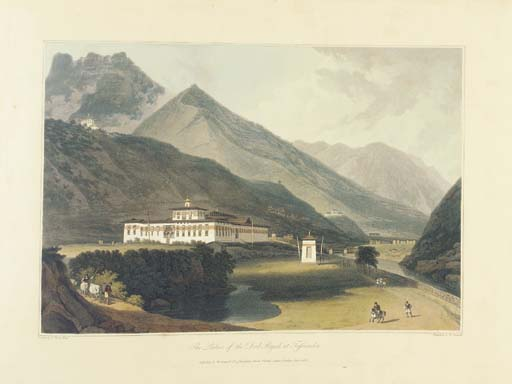 DANIELL, William (1769-1837), and Samuel DAVIS (1760-1819). <I>Views in Bootan</I>. London: 1813