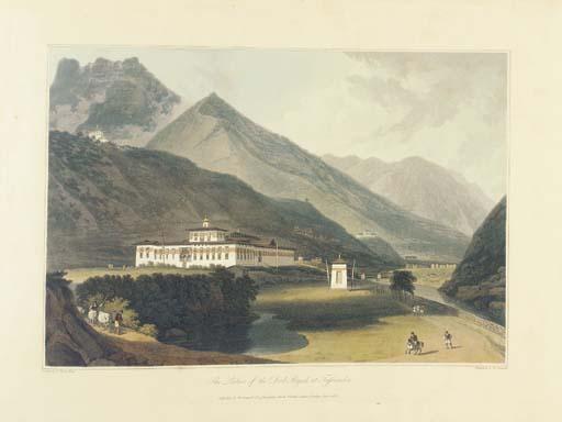 DANIELL, William (1769-1837), and Samuel DAVIS (1760-1819). <I>Views in Bootan</I>. London: 1813