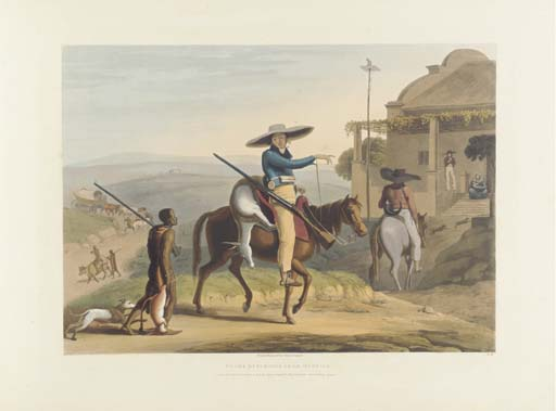 DANIELL, Samuel (1775-1811). <I>African Scenery and Animals at the Cape of Good Hope</I>. London: