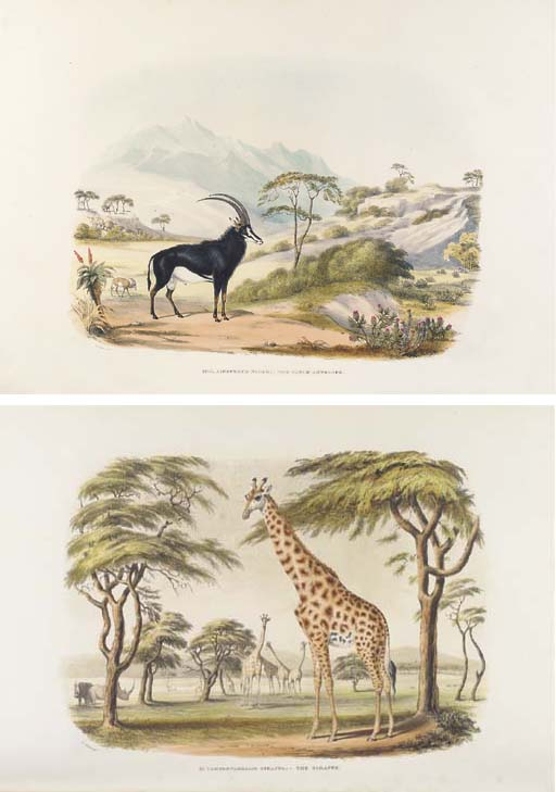 HARRIS, Sir William Cornwallis (1807-1848). <I>Portraits of the Game and Wild Animals of Southern</I>