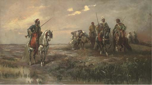 Frederick von Luerzer (German, 1858-1917), after Adolf Schreyer