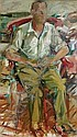 Portrait of John Bernard Myers, Elaine DeKooning, Click for value