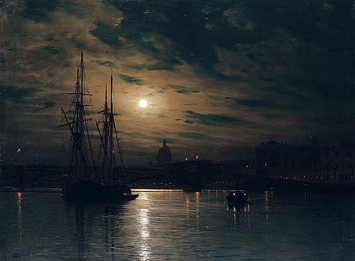 Night on the Neva, St. Petersburg