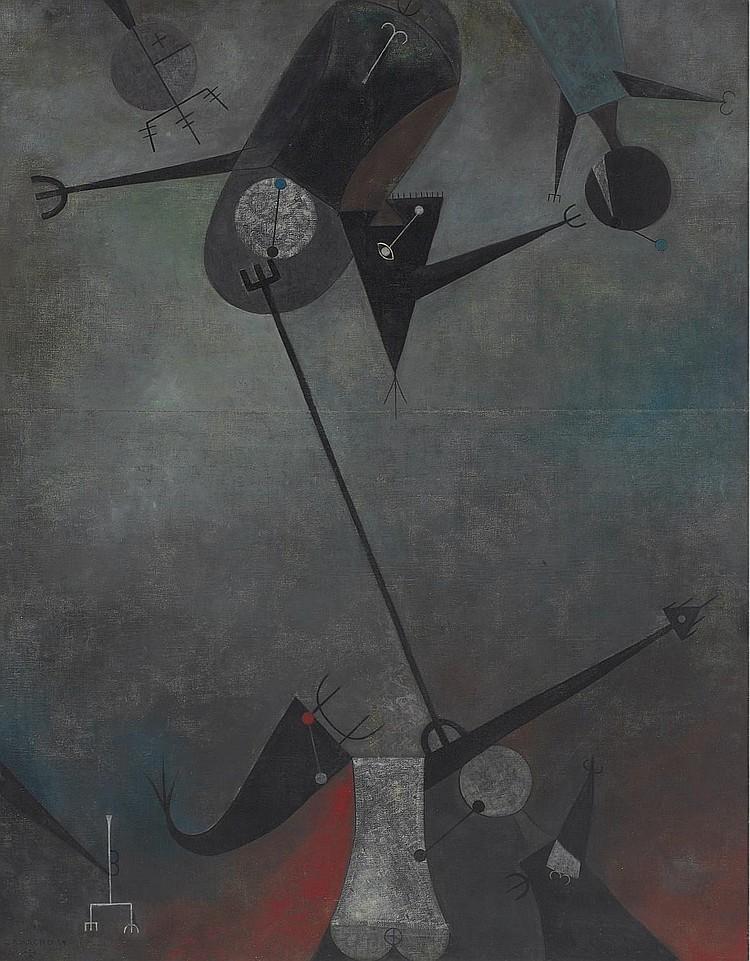 Jorge Camacho (Cuban b. 1934)