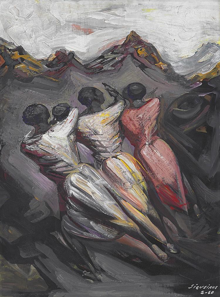 David Alfaro Siqueiros (Mexican 1896-1974)