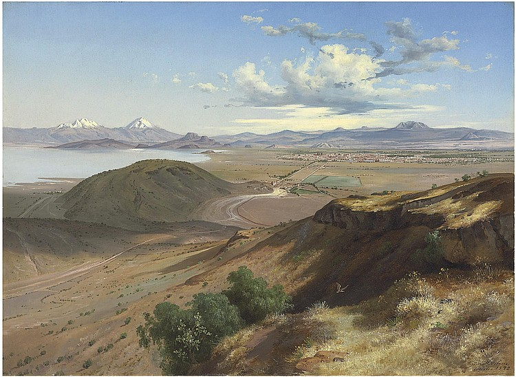 Jose María Velasco (Mexican 1840-1912)