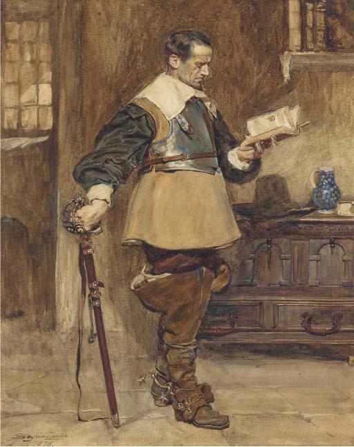 John Seymour Lucas, R.A., R.I. (1849-1923)