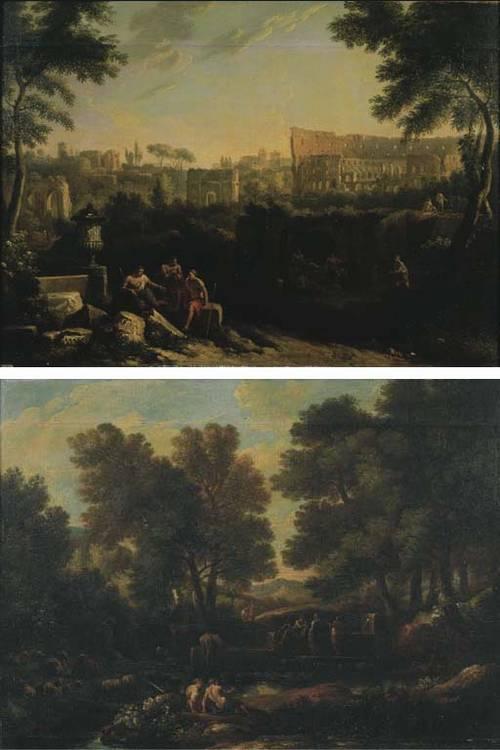 Jan Frans van Bloemen, l'Orizzonte (Anversa 1662-1749 Roma)
