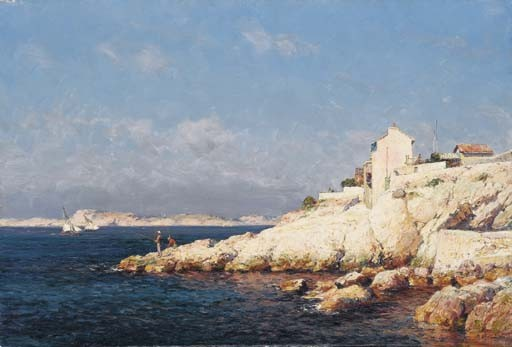JEAN-BAPTISTE OLIVE (MARSEILLE 1848-1936)