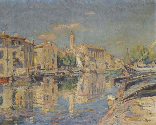 AGRICOL-LOUIS MONTAGNE (AVIGNON 1879-1960 PARIS)