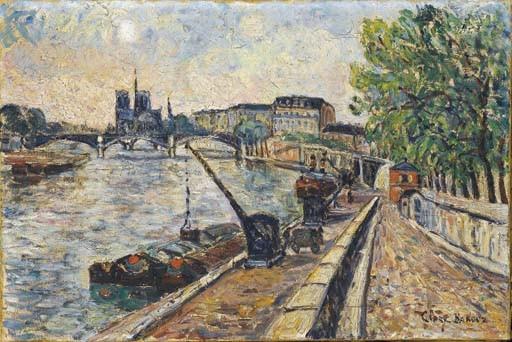 ADOLPHE CLARY-BAROUX (PARIS 1865-1933 ?)