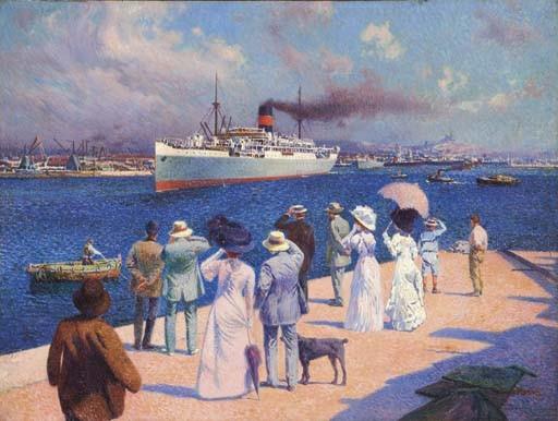 DAVID DELLEPIANE (GENES 1866-1932 MARSEILLE)
