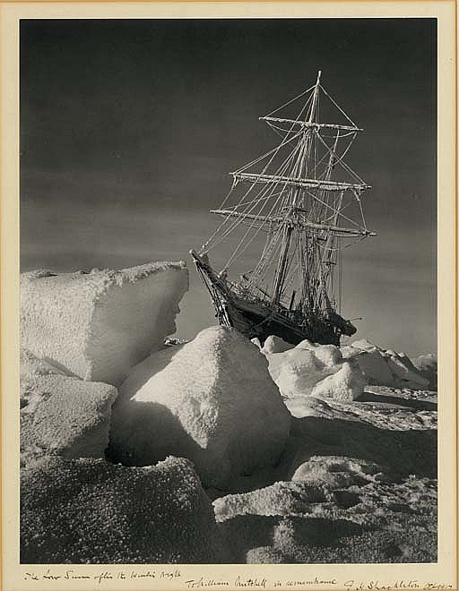 The Low Sun after the Winter Night (S.Y.  Endurance  in the Weddell Sea), 1915