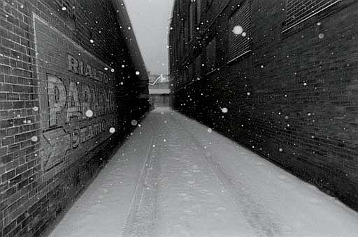 Untitled (Alleyway), Jan. 1977