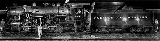 Norfolk & Western Engine Class Sla 261, 1958